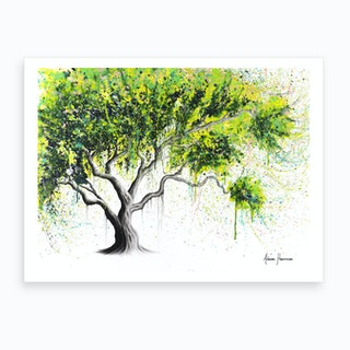 Funky Fig Tree Art Print