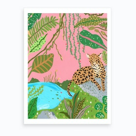 Tigress Of The Jungle Art Print