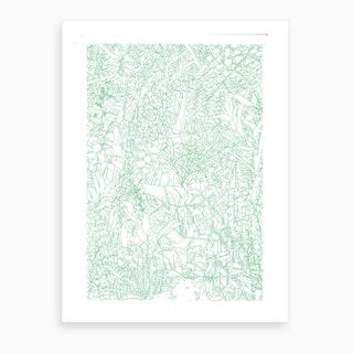 Jungle Lovers Art Print
