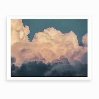 Clouds 8 Art Print