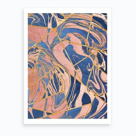 Geometric Xliv Art Print