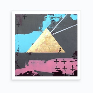 Triangle Vision Art Print