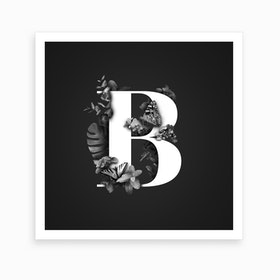 Wild   B Square Art Print