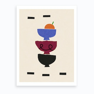 Stacking Bowls Art Print