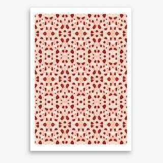 Moroccan Clay Zellige Art Print