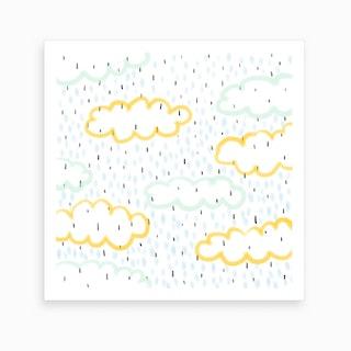 Cloudy Day, Rainy Day Art Print