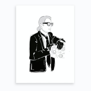 Karl Art Print