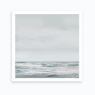 White Day Art Print