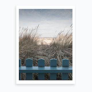 Norfolk Sand Dunes Art Print
