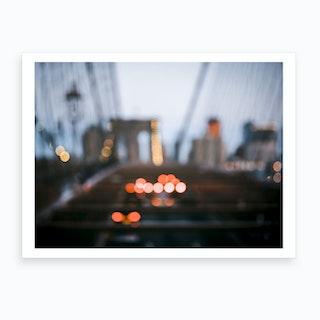 Brooklyn Blur  Art Print