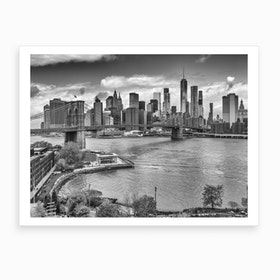 View From Manhattan Bridge Art Print