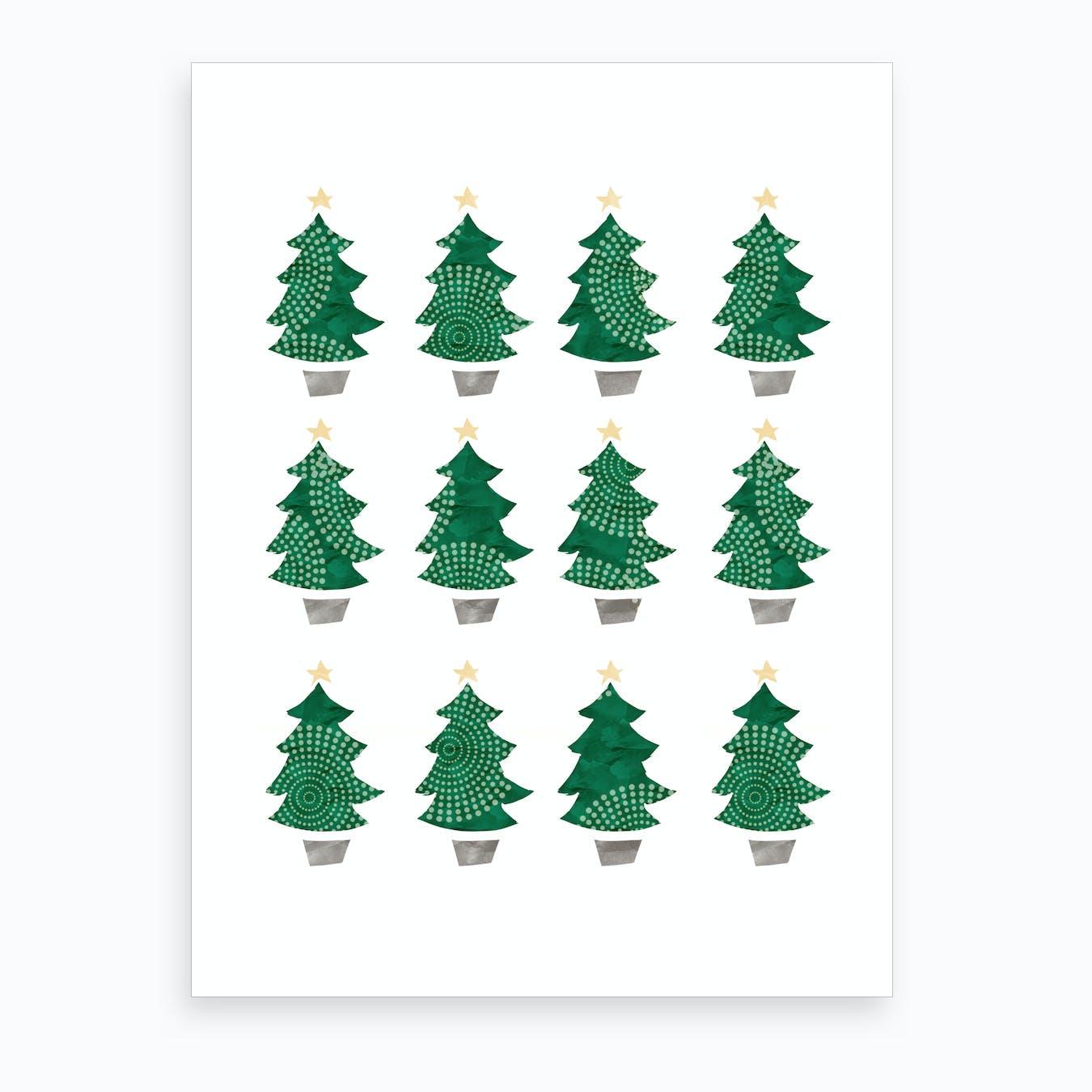- Christmas Dozen Art Print By Namoh - Fy