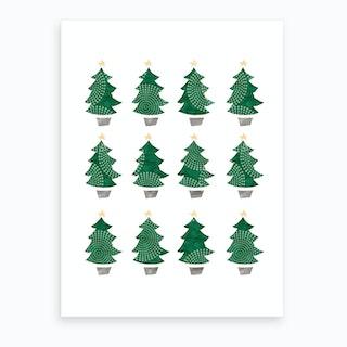 Christmas Dozen Art Print