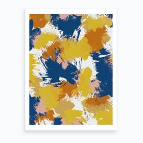 Colourful Abstract I Art Print