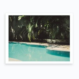 Pool Party Art Print