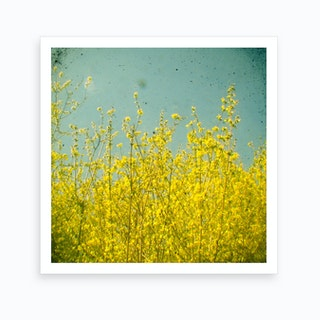 Yellow Nature Art Print
