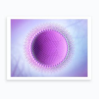 Inverse Micelle 08 Art Print