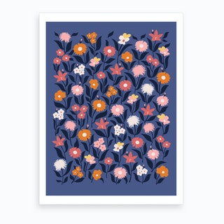 Meadow Night Art Print