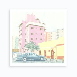 Al Muthanna St Art Print