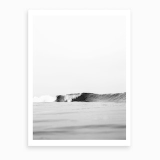 One Wave Art Print