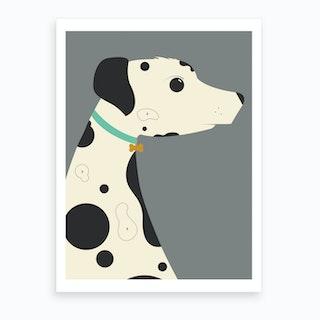 Dalmatian Art Print