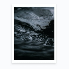 Water Pattern Iv Art Print
