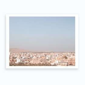 Oman City View 2 Art Print