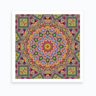 Cherga Mandala II Art Print