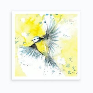 Titblue Bird 1 Art Print