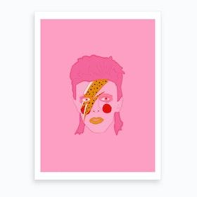 Bowie Illustration Art Print