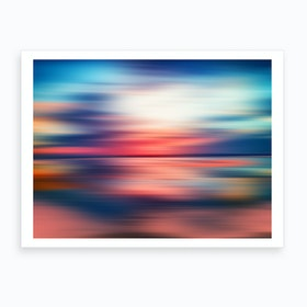 Abstract Sunset VI Art Print