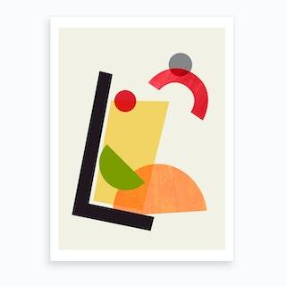 Cocktail II Tom Collins Art Print