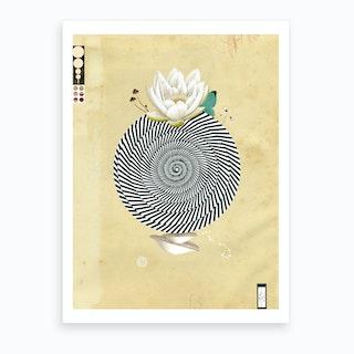 Wonderful Lotus Flower World Art Print