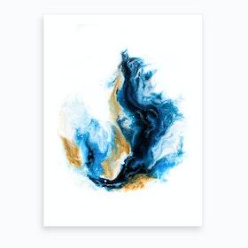 Crashing Sea Art Print