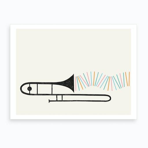 Tromboner Art Print