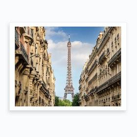 Parisian Flair Art Print