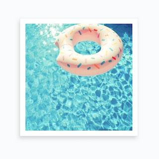 Swimming Pool Vii Art Print