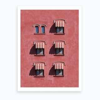 Red Rooms Art Print