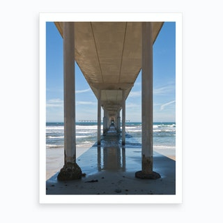 Ocean Beach Pier Art Print