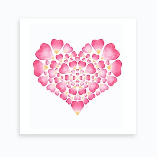 I Heart You Art Print
