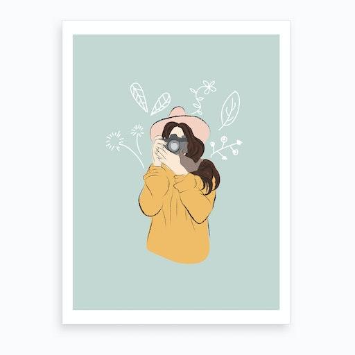 Take A Pic Art Print
