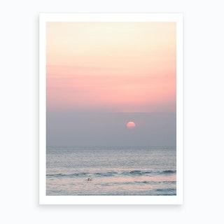Bali Sunset Art Print