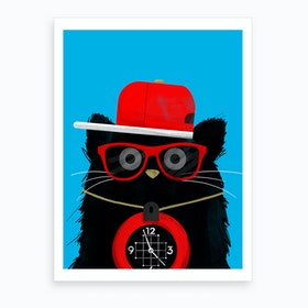 Cat Flavor Flav Art Print