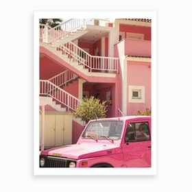 Barbie Dreamhouse  Art Print
