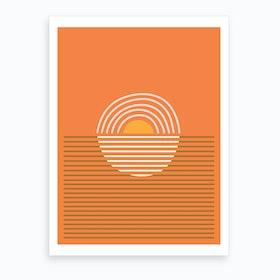 Sunsets 2 Art Print