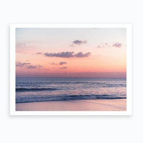 Chasing Sun Art Print