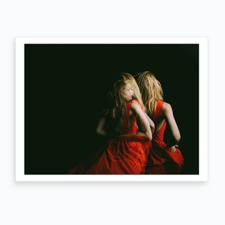 In Red Iv Art Print