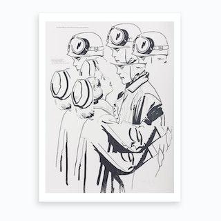 The Talk Art Print