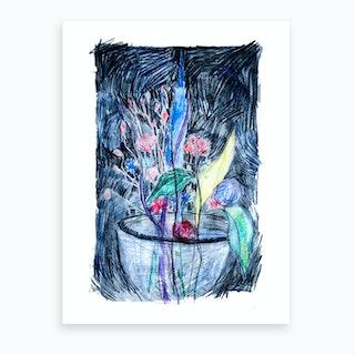 Life Within A Pot Art Print