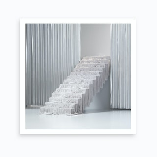 Fur Stairs Art Print